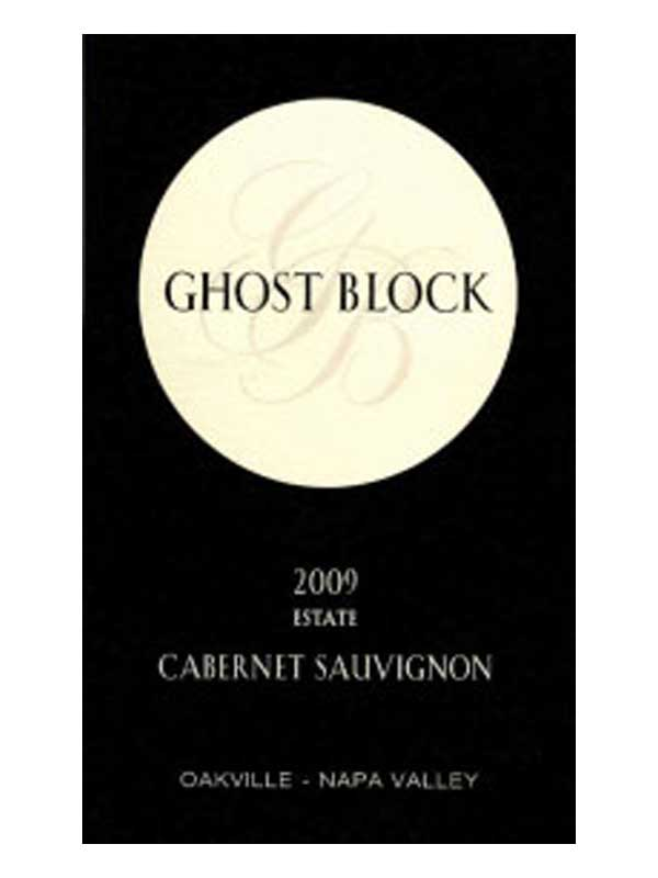 Ghost Block Cabernet Sauvignon Estate Oakville 2009 750ML Label