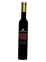 Goose Watch Winery Classic Cream Sherry Finger Lakes NV 375ML Bottle