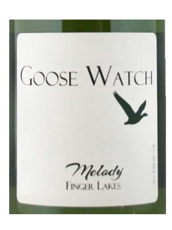 Goose Watch Winery Melody Finger Lakes 750ML Label