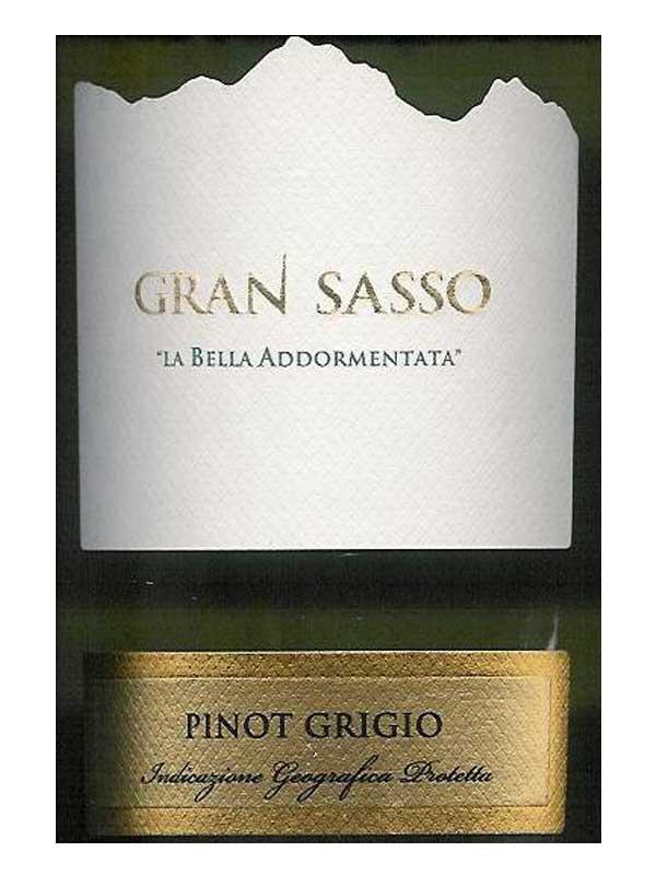 Gran Sasso - Gran Sasso La Bella Addormentata Pinot Grigio ...