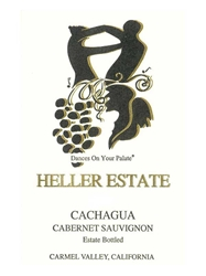 Heller Estate Cabernet Sauvignon Cachagua Carmel Valley 2014 750ML Label
