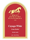 Hunt Country Vineyards Cayuga White Finger Lakes 750ML Label