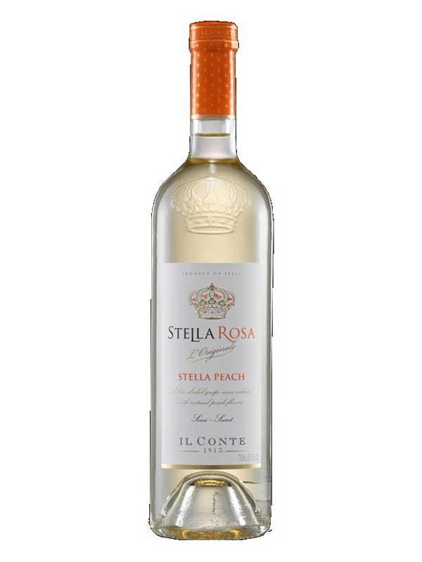 Stella Rosa Wines - Il Conte Stella Rosa Stella Peach Semi ...