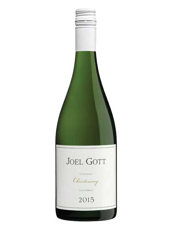 Joel Gott Unoaked Chardonnay California 2015 750ML Bottle