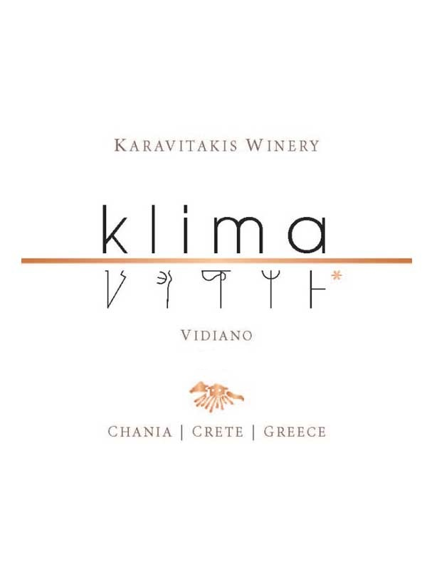 Karavitakis Winery Klima White Crete 750ML Label