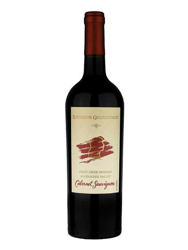 Katherine Goldschmidt Crazy Creek Vineyard Cabernet Sauvignon Alexander Valley 2013 750ML Bottle