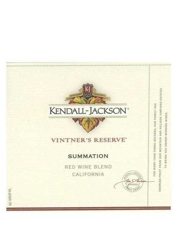 Kendall Jackson Kendall Jackson Summation Vintner S