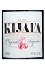 Kijafa Cherry Wine 750ML Label