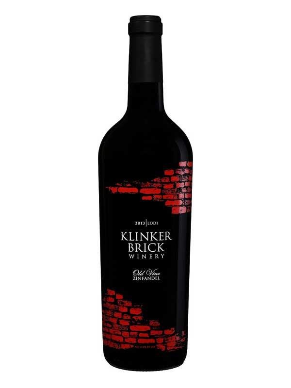 Klinker Brick Old Vine Zinfandel Lodi 2013 750ML Bottle
