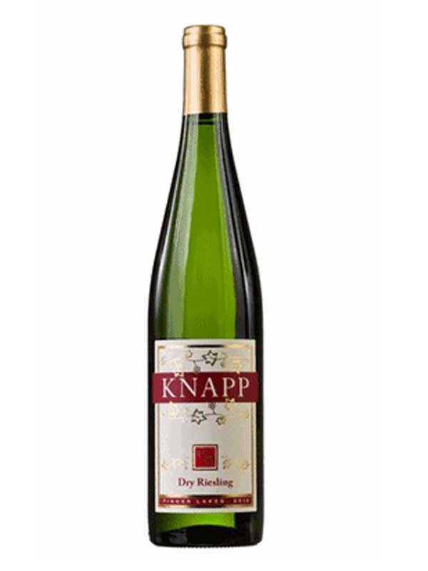 Knapp Winery Dry Riesling Finger Lakes 750ML Bottle