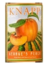 Knapp Winery George's Peach Finger Lakes NV 750ML Label