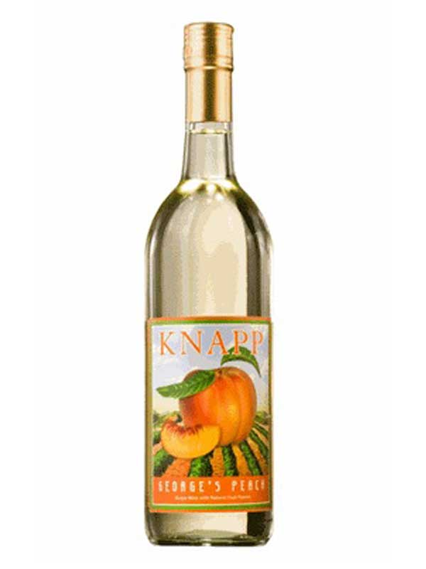 Knapp Winery George's Peach Finger Lakes NV 750ML Bottle