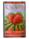 Knapp Winery Jammin Strawberry Finger Lakes NV 750ML Label