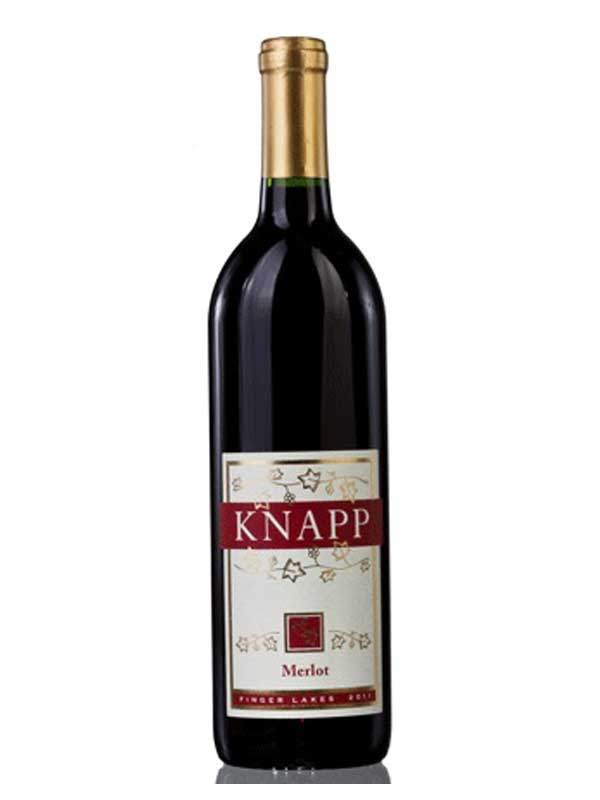 Knapp Winery Merlot Finger Lakes 750ML Bottle