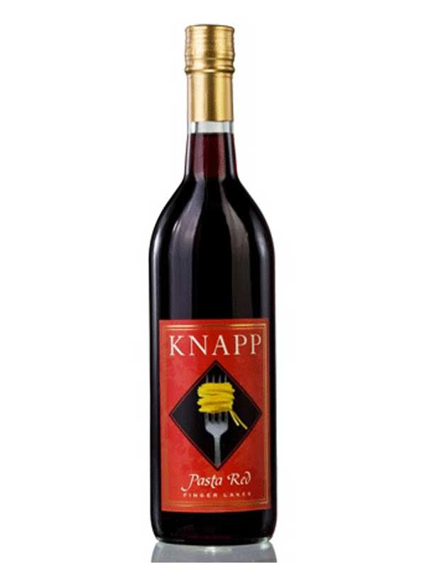 Knapp Winery Pasta Red Finger Lakes NV 750ML Bottle