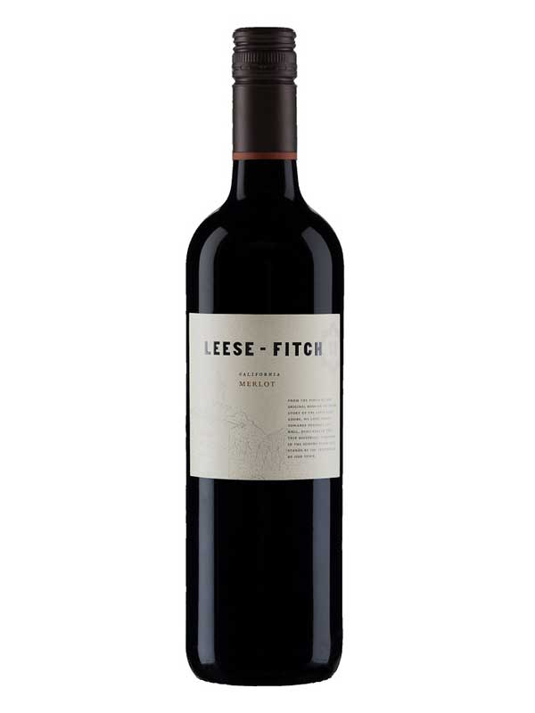 Leese Fitch Winery Leese Fitch Merlot 2015 750ml