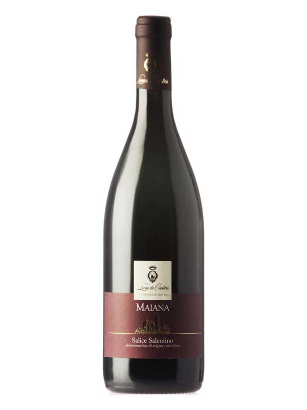 Leone de Castris Salice Salentino Rosso Maiana 2012 750ML Bottle