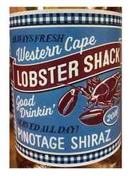 Lobster Shack Pinotage Shiraz Rose Western Cape 2018 750ML Label