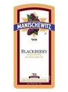 Manischewitz Blackberry 750ML Label