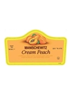 Manischewitz Cream Peach 750ML Label