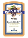 Manischewitz Elderberry 750ML Label