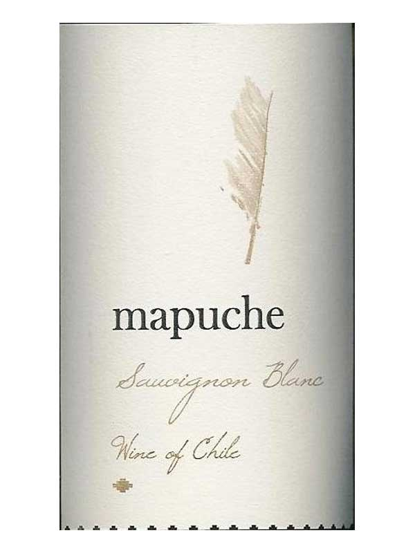 Mapuche Sauvignon Blanc Central Valley 2014 750ML Label