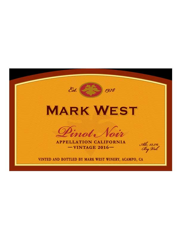 a19f5c283b915 Mark West Winery - Mark West Pinot Noir 2016 750ML