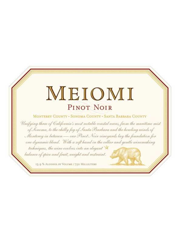 Belle Glos Meiomi Pinot Noir Sonoma Coast 2016 750ml
