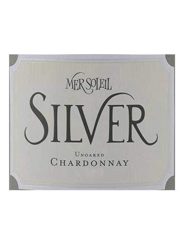Mer Soleil Silver Unoaked Chardonnay Santa Lucia Highlands 2012 750ML Label