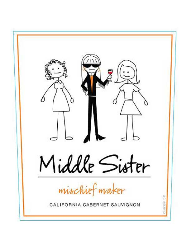 Middle Sister Mischief Maker Cabernet Sauvignon NV 750ML Label