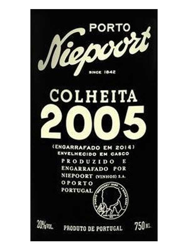 Niepoort Colheita 2005 Porto 750ML Label