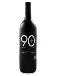 Ninety Plus (90+) Cellars Merlot Lot 92 Mendocino 750ML Bottle