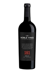 Noble Vines 181 Merlot Lodi 750ML Bottle