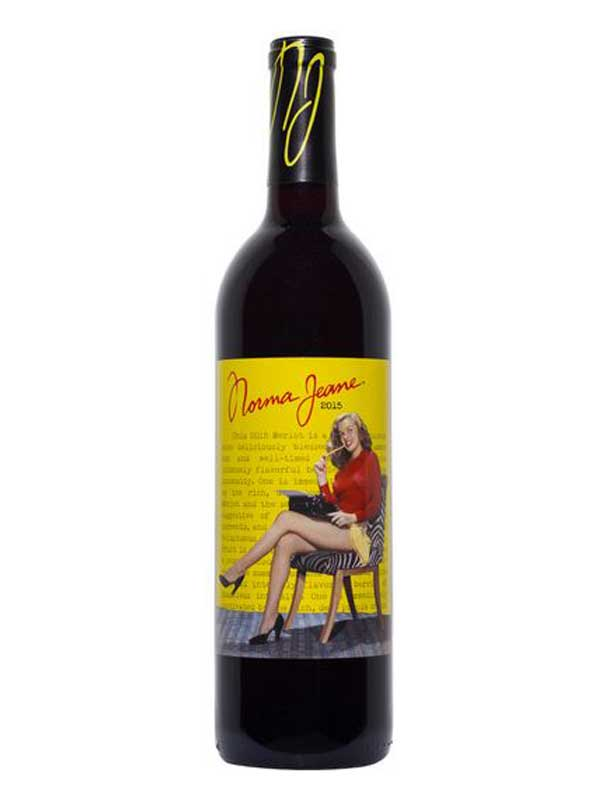 Norma Jeane A Young Merlot 2015 750ML Bottle