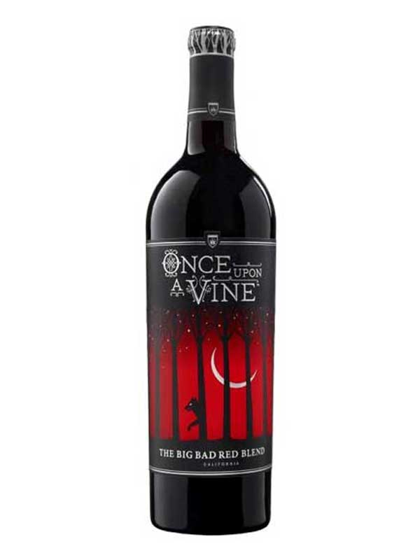 Once Upon A Vine, The Big Bad Red Blend 2014 750ML Bottle
