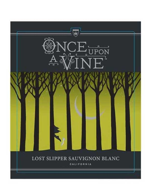Once Upon A Vine, The Lost Slipper Sauvignon Blanc 2015 750ML Label