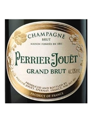 Perrier-Jouet Grand Brut NV 375ML Half Bottle Label