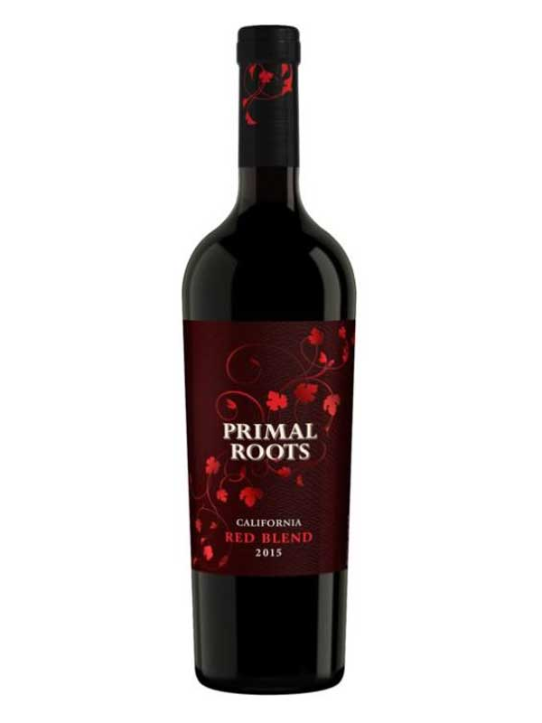 Primal roots primal roots red blend california 2015 for What wine goes with fish