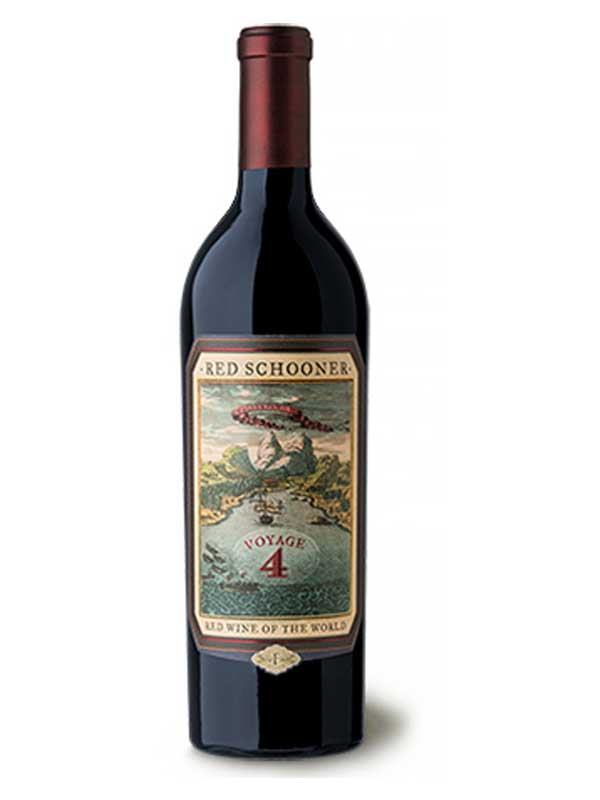 Red Schooner Red Wine of the World Voyage 4 750ML Bottle
