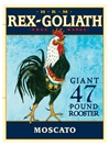 Rex Goliath Moscato NV 750ML Label