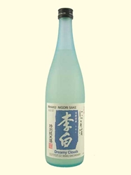Rihaku Dreamy Clouds Tokubetsu Junmai NV 720ML Bottle