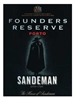 Sandeman Founders Reserve Porto 750ML Label