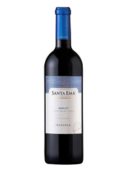 Santa Ema Reserve Merlot Maipo Valley 750ML Bottle