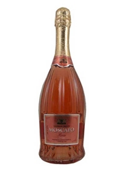 Santero Moscato Rose Vino Spumante Dolce NV 750ML Bottle