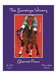 Saratoga Winery Cabernet Franc 750ML Label