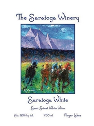 Saratoga Winery Saratoga White 750ML Label