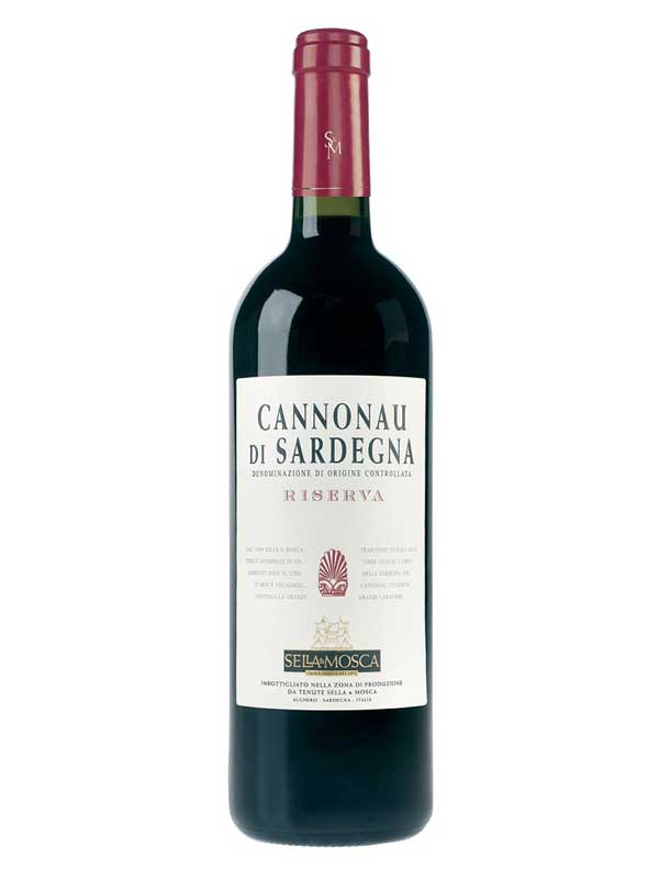 Sella & Mosca Cannonau di Sardegna Riserva Sardinia 2012 750ML Bottle