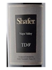 Shafer Vineyards TD-9 Napa Valley 750ML Label