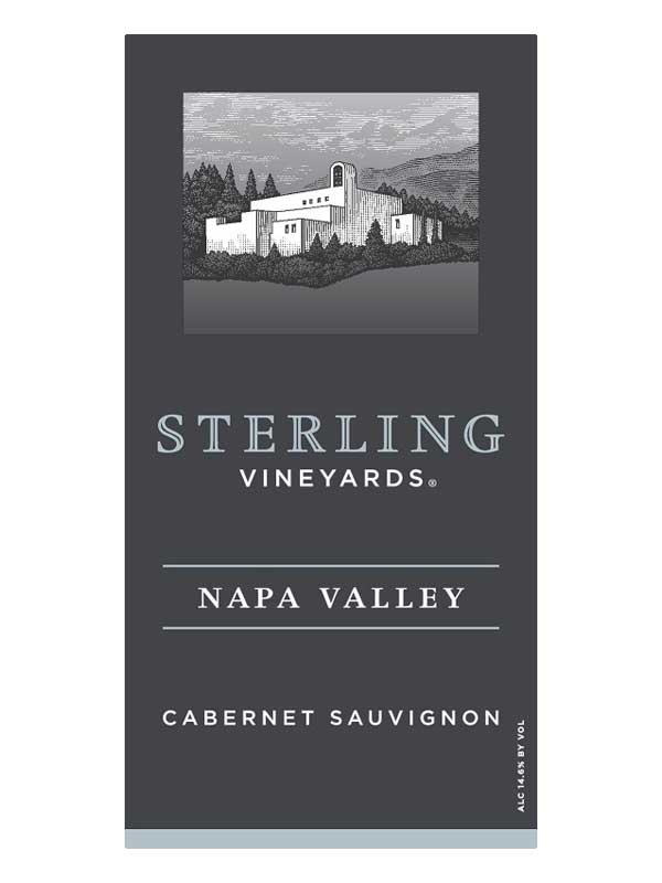 Sterling Vineyards Cabernet Sauvignon Napa Valley 2013 750ML Label
