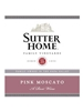 Sutter Home Pink Moscato NV 750ML Label